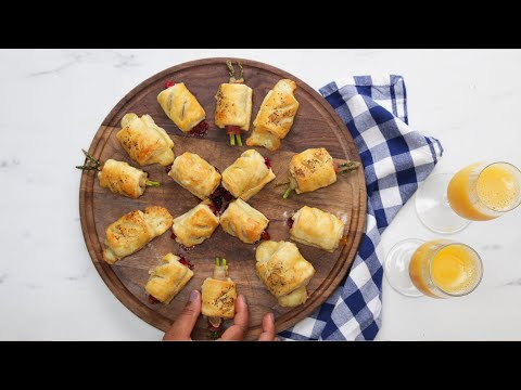 Mini Strudels 4 Ways ? Tasty