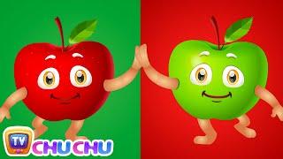 Apple Song (SINGLE) | Learn Fruits for Kids | Educational Learning Songs & Nursery Rhymes | ChuChuTV