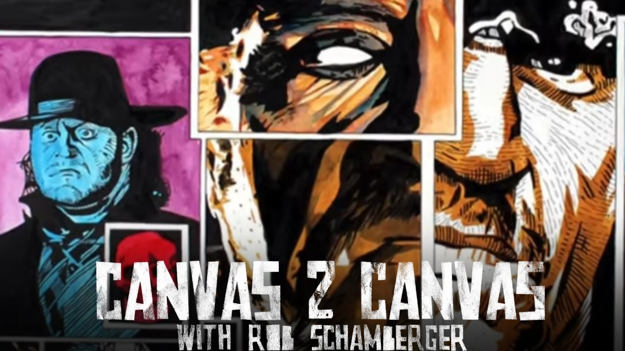 WWE - A Tribute to The Undertaker - WWE Canvas 2 Canvas