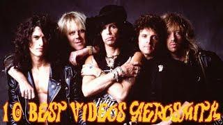 Os 10 Melhores Videoclipes do Aerosmith - 10 Best Videos of Aerosmith