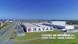 O moderno centro de distribuição da Havan no Brasil