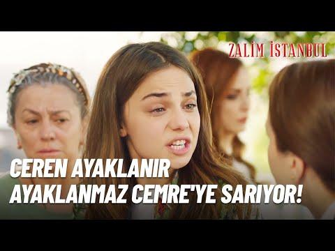 Ceren Ayaklanır Ayaklanmaz Cemre'ye Sarıyor! - Zalim İstanbul 9.Bölüm