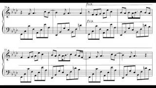 [Sheet Music] Boulevard of Broken Dreams by Green Day (arr. Piano Tribute Players)