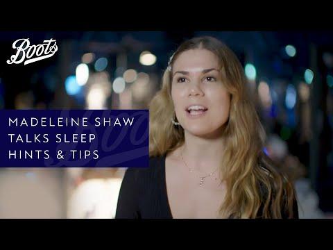 boots.com & Boots Voucher Code video: Madeleine Shaw | Madeleine Shaw Talks Sleep Hints & Tips | Boots UK