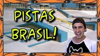 As Melhores Pistas de Skate do Brasil!