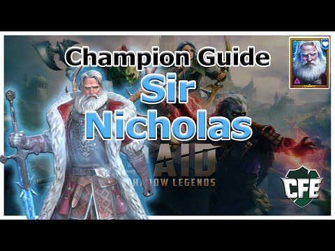 RAID Shadow Legends | Champion Guide | Sir Nicholas