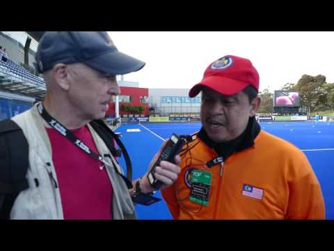Malaysia hockey coach interview before India game