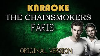 The Chainsmokers - Paris (Karaoke Version Lower)