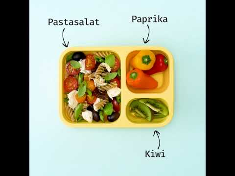 Matpakker - matglede på boks. Pastasalat.