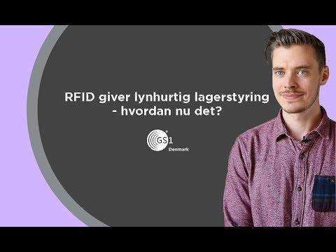 RFID giver lynhurtig lagerstyring - hvordan nu det?