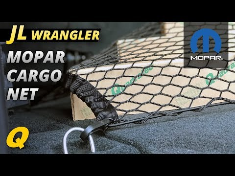 Mopar Cargo Convienence Net for Jeep Wrangler JL
