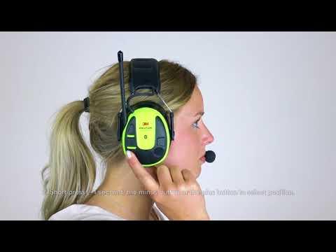 Listen To FM Radio   3M™ PELTOR™ WS™ ALERT™ XPI User Instructions