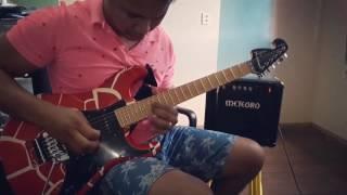 Improviso na guitarra - Música Hallelujah (Aleluia)