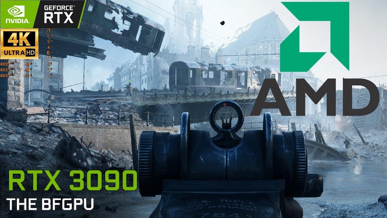 XenthorX - Battlefield 5 : 4K Live AMD 5900X Testing   DLSS OFF   Ray Tracing Ultra   BFV   RTX 3090   4K