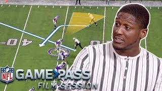 Xavier Rhodes Breaks Down How to Guess Routes, His Technique, and Today's Top WRs | NFL Film Session