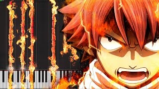 Main Theme - Fairy Tail [Piano Tutorial] (Synthesia)
