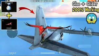 How to Jump on Aeroplane//200% working Trick🔥😱//Gloo + Glider