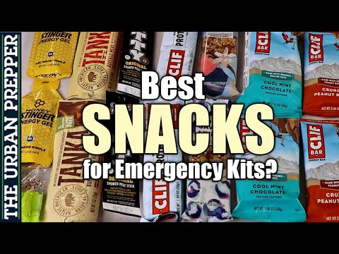 Best Snacks for your Emergency Kits?