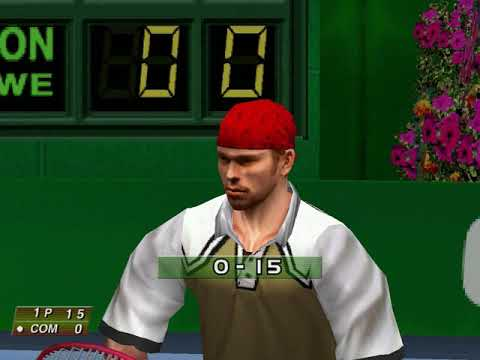 Virtua Tennis (Arcade Mode: Gilles Altman) (Hitmaker, Strangelite) (Windows) [2002] PC Longplay