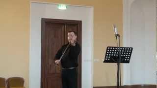 Lucian Reuţ - Hora bucovineană (vioara), Recital 6.06.12