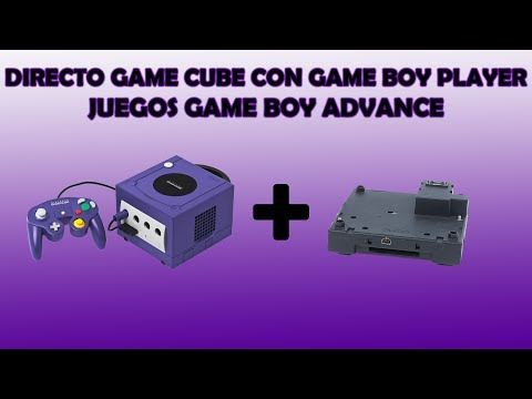 Directo game cube con game boy player