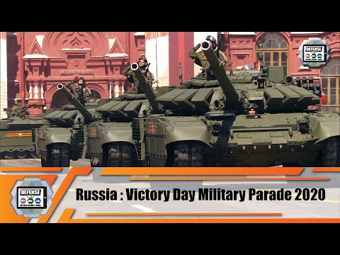 Russian army Armored vehicles Air defense systems Missile systems Victory Day military parade 2020