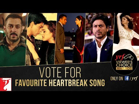 Favourite Heartbreak Song | YRF Viewer's Choice Awards | Vote & Win
