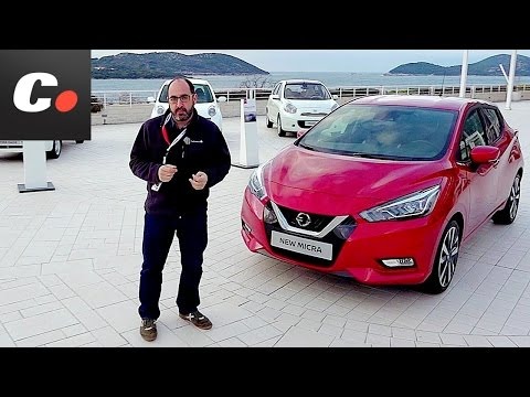 Nissan Micra 2017 | Primera prueba / Test / Review en español | Contacto | coches.net