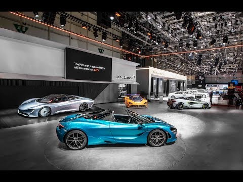 Exclusive tour of McLaren Automotive stand - Geneva Motor Show Live