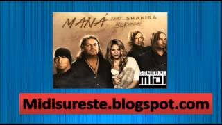 Eres mi Verdad_ Mana ft Shakira en formato MIDI