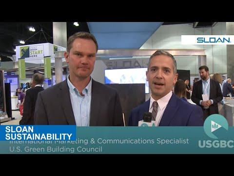 USGBC interviews Sloan's Patrick Boyle at Greenbuild 2016