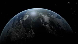 Earth 3d animation