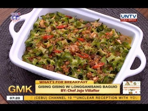 Gising Gising w/ Longganisang Baguio | What's For Breakfast