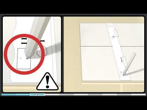 Hvordan installere Bosch varioHinge