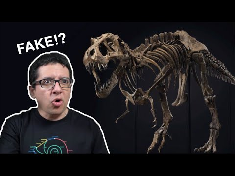 La Verdad sobre los Esqueletos de Dinosaurios