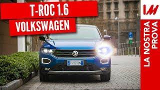 Test drive notturno Volkswagen T-Roc 1.6 diesel [4K]