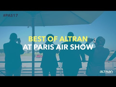Best of Altran at Paris Air Show