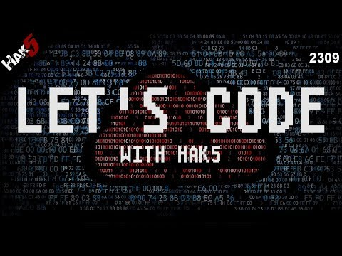 Let's Code with Hak5 - Packet Squirrel - Hak5 2309
