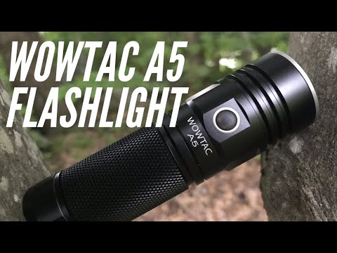 WOWTAC A5 Flashlight: Budget-Friendlier Flood Light for Home, Car, EDC Bag, Bug Out Bag