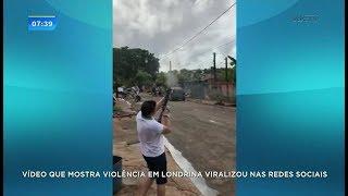 Vídeo de homem disparando rajadas de tiros para cima viraliza nas redes sociais