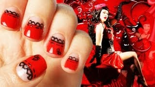 Moulin Rouge Nail Art ft.Mikeligna