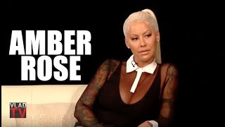 Amber Rose Gives Her Definition of a 'Sl*t', Reacts to Men Being 'Sl*t Makers' (Part 2) width=