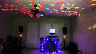 DJ Kayenne American DJ Micro Phase Setup