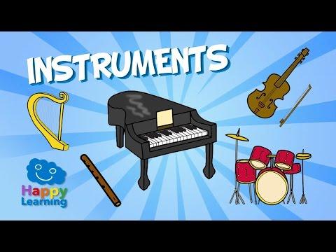 Los Instrumentos Musicales En Inglés Vocabulario Inglés Educación Primaria Beunicoos