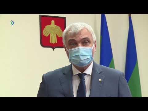 Владимир Уйба записал обращение по диверсификации экономики Коми.