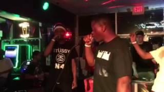 "Lil Eric Da Demon Performing ""Uber Everywhere Remix"" Live"