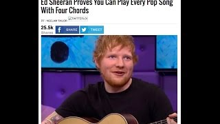 OMG ED SHEERAN STOLE FOUR CHORDS FROM THE AXIS OF AWESOME