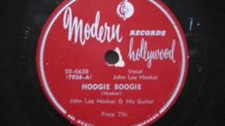 JOHN LEE HOOKER - Hoogie Boogie