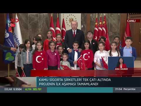 Cumhurbaşkanı Erdoğan canlı yayında İstiklal Marşını okudu, milyonlar eşlik etti
