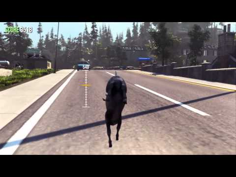 Goat Simulator - Goat Parkour demonstration, coming in patch 1.1